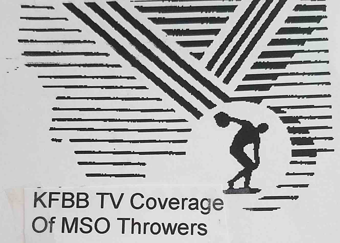 Great coverage of the throws from KFBB Great Falls